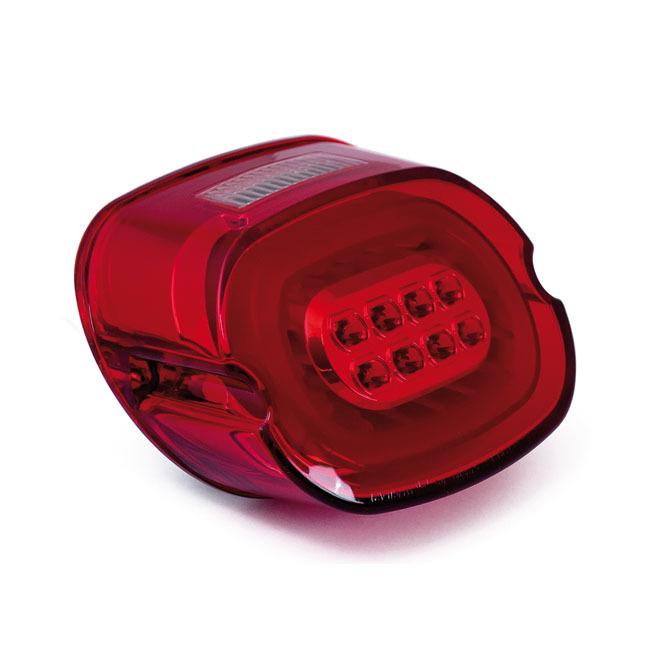 MCS エムシーエス テールランプ LAYDOWN LED TAILLIGHT COLOR:RED LENS 06-09(NU)FLHX; 09-14 FLHT FLHR FLTR
