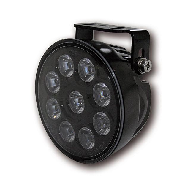 MCS エムシーエス ヘッドライト本体・ライトリム/ケース PRIME SPOTLAMP UNIT LED COLOR:BLACK