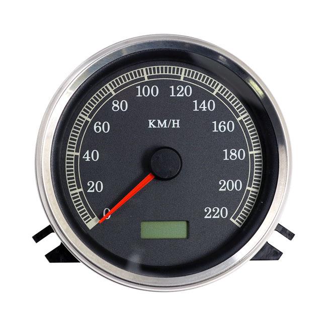 MCS エムシーエス スピードメーター SPEEDOMETER. KMH. 'K' FACE 00-03 SOFTAIL; 94-03 FLHR(NU)