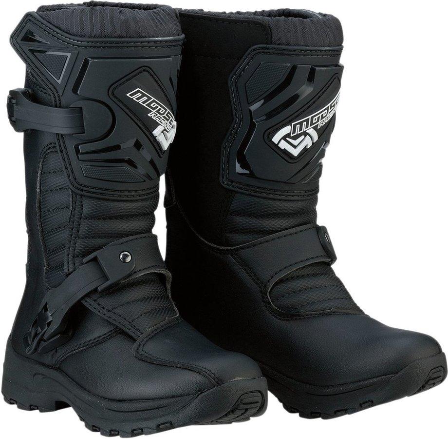 MOOSE RACING ムースレーシング オフロードブーツ ブーツ S18C M1.3 ブラック【BOOT S18C M1.3 BLK】【Kids】 サイズ:12 [3411-0467]