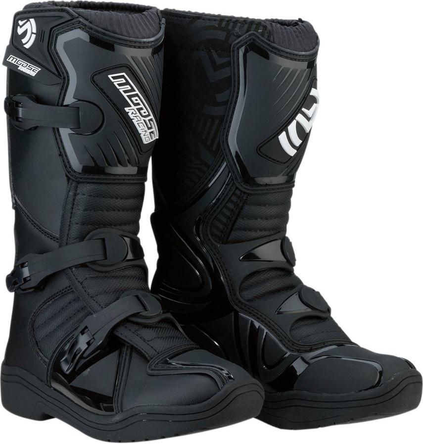 MOOSE RACING ムースレーシング オフロードブーツ ブーツ S18Y M1.3 ブラック【BOOT S18Y M1.3 BLK】 サイズ:1 [3411-0423]