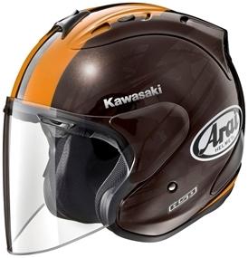 【在庫あり】アライ ジェットヘルメット 【KAWASAKI×ARAI】SZ-RAM4 ブラスト [エスゼット ラム4] ヘルメット サイズ:L(59-60cm)
