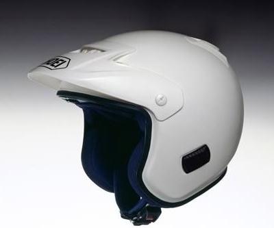 SHOEI ショウエイ オフロードヘルメット TR-3 [ティーアール-スリー ホワイト] ヘルメット サイズ:XL (61cm)