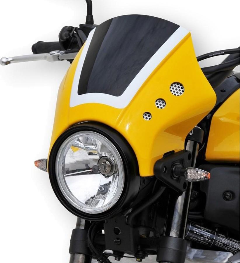 BODY STYLE ボディースタイル ヘッドライト本体・ライトリム/ケース Sportsline headlight cover Color:yellow/black/white (Color code:60th Anniversary)