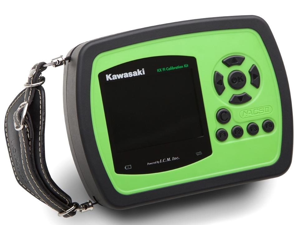 US KAWASAKI 北米カワサキ純正アクセサリー インジェクション関連 KX (TM)FI キャリブレーションキット (ハンドホールド)【KX (TM) FI Calibration Kit (Handheld)】