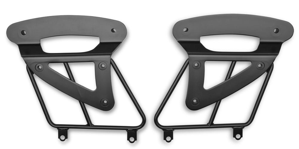 US KAWASAKI 北米カワサキ純正アクセサリー 固定式 サドルバッグサポートセット【Fixed Saddlebag Support Set】