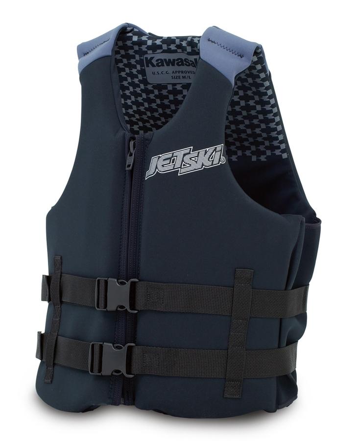 US KAWASAKI 北米カワサキ純正アクセサリー Jet Ski (R)ソリッドネオプレンベスト【Jet Ski (R) Solid Neoprene Vest】