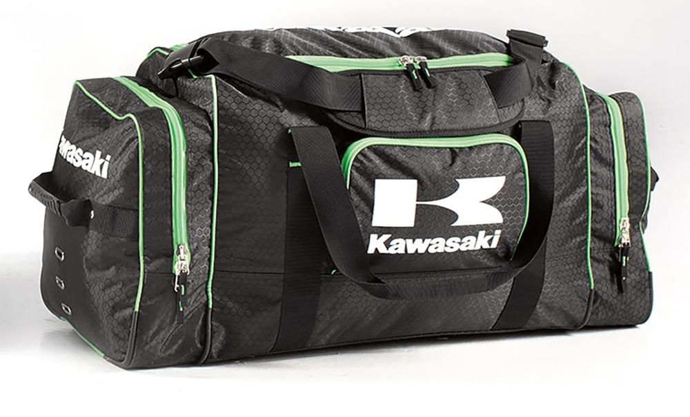 US KAWASAKI 北米カワサキ純正アクセサリー 大型ギアバッグ【Large Gear Bag】