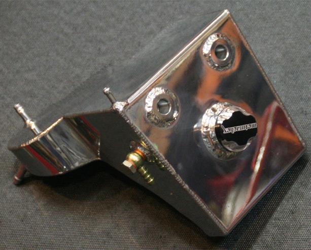 GYRO ジャイロ オイルクーラー関連部品 オイルタンク S1 S1 WHITE LIGHTNING [ホワイトライトニング]