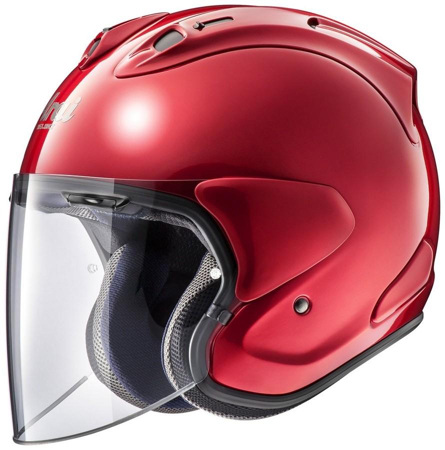 Arai アライ ジェットヘルメット VZ-Ram[ブイゼット ラム カームレッド] ヘルメット サイズ:XL(61-62cm)