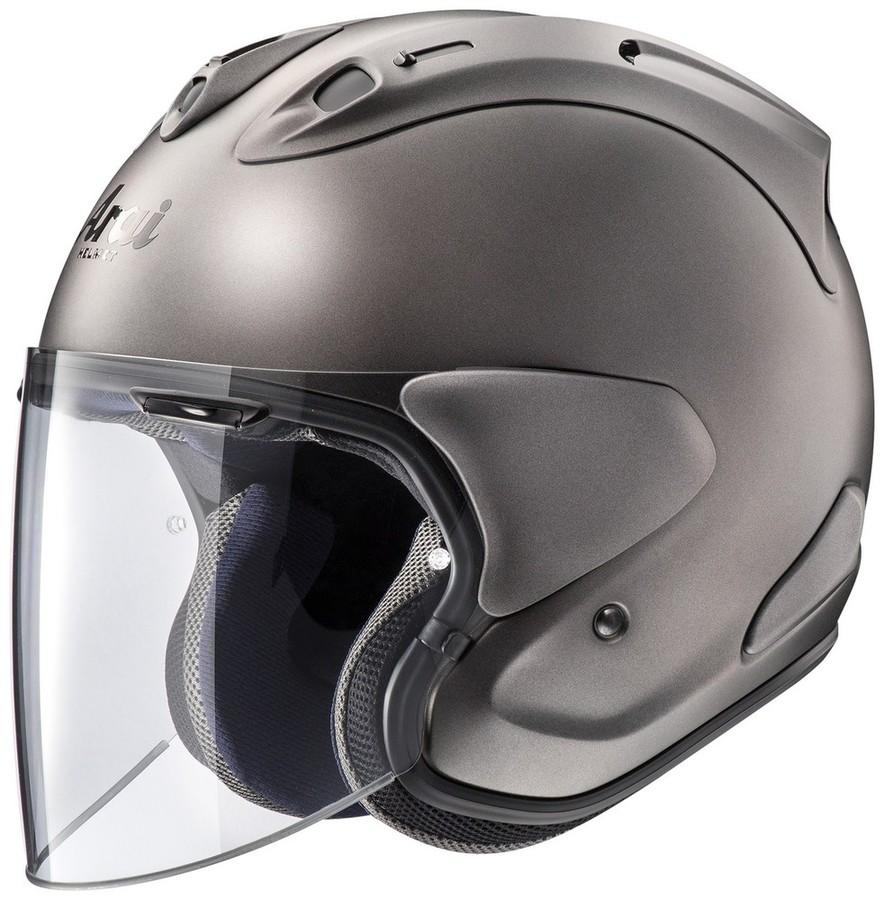【在庫あり】Arai アライ ジェットヘルメット VZ-Ram[ブイゼット ラム エムジーグレー] ヘルメット サイズ:XL(61-62cm)