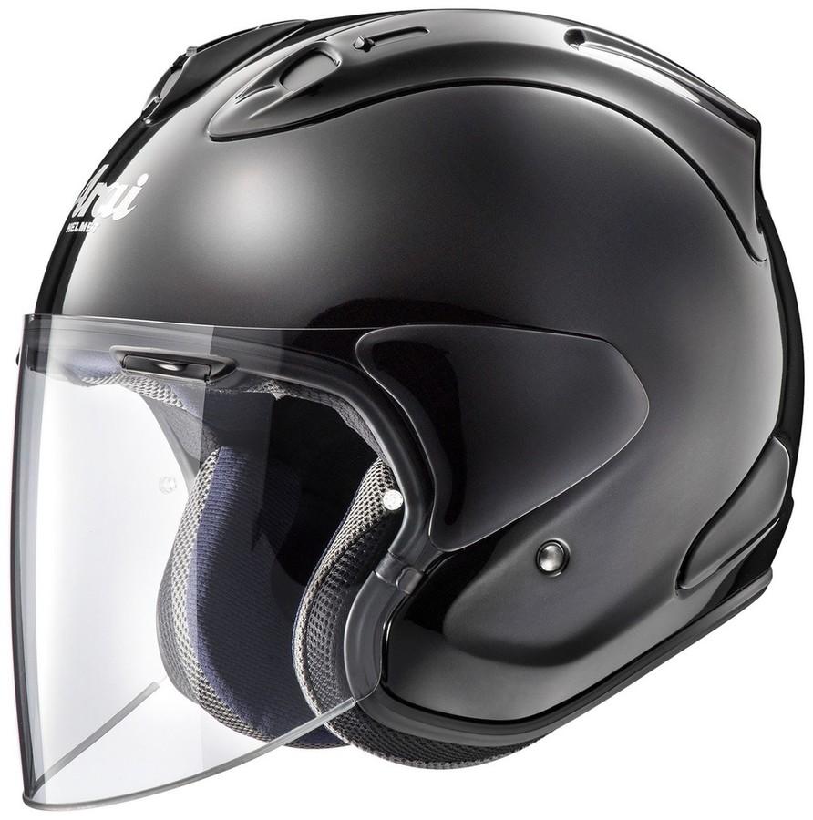 Arai アライ ジェットヘルメット VZ-Ram[ブイゼット ラム グラスブラック] ヘルメット サイズ:XS(54cm)