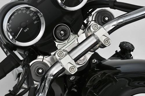 AGRAS アグラス トップブリッジ アッパーブラケット:セパレートタイプ Z900RS