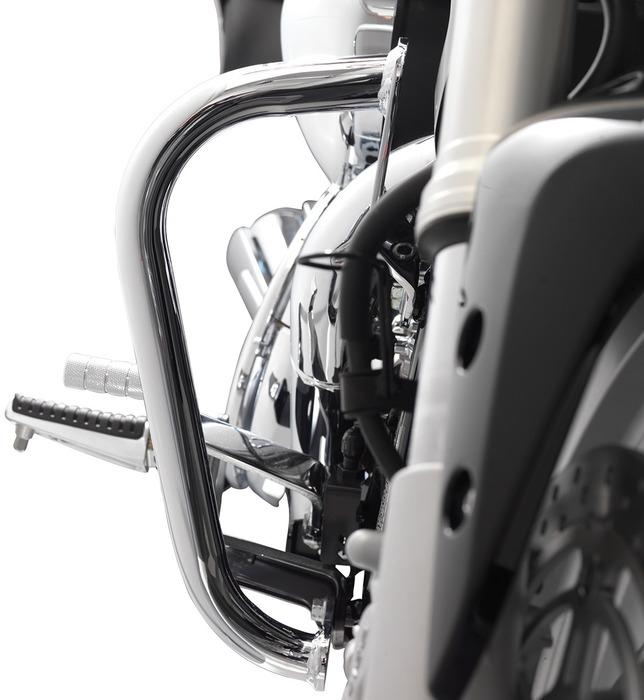 【イベント開催中!】 US SUZUKI 北米スズキ純正アクセサリー ハンドガード クローム エンジン ガードセット  (Chrome Engine Guard Set) ブルバード M90(イントルーダー M1500)