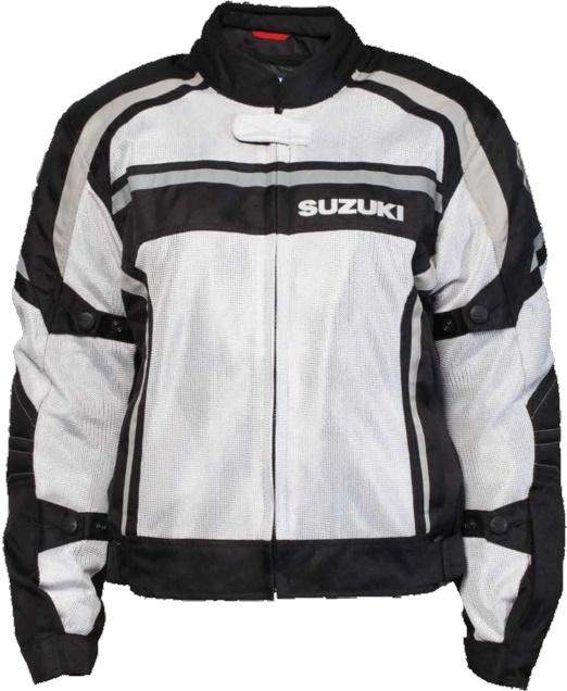 US SUZUKI 北米スズキ純正アクセサリー レディース SUZUKI メッシュジャケット【Women's Suzuki Mesh Jacket】 Size:MED