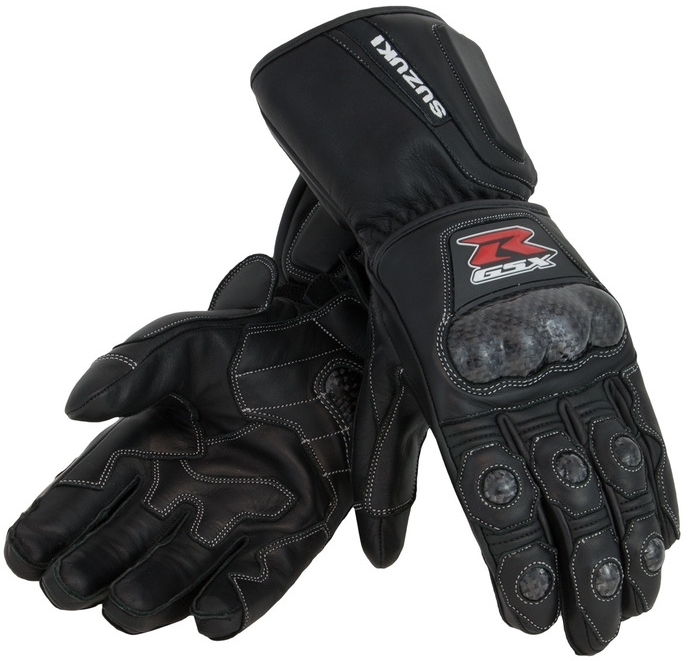 【イベント開催中!】 US SUZUKI 北米スズキ純正アクセサリー レザーグローブ GSX-R レザー ガントレットグローブ【Gsx-R Leather Gauntlet Gloves】 Size:XXL