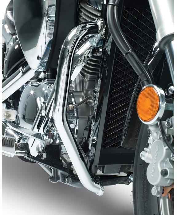 US SUZUKI 北米スズキ純正アクセサリー ガード・スライダー エンジン ガードセット (Engine Guard Set) カラー:Chrome