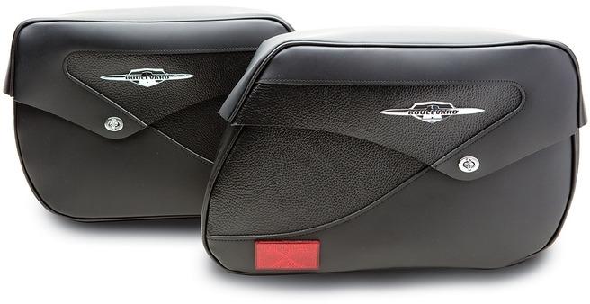 【イベント開催中!】 US SUZUKI 北米スズキ純正アクセサリー サドルバッグ・サイドバッグ クラシック レザーサドルバッグ (Classic Leather Saddlebags) タイプ:STD