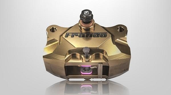 【イベント開催中!】 frando フランドー F901 2ポットキャリパー カラー:ゴールド 汎用