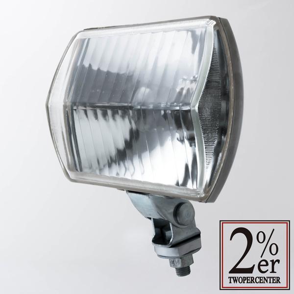 2%er ツーパーセンター ヘッドライト本体・ライトリム/ケース 【ミラー】角ライト