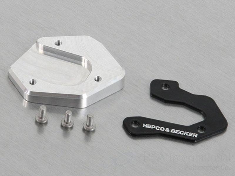 HEPCO BECKERヘプコ ベッカー サイドスタンド サイドスタンドエンド BECKER ヘプコ MT-07 大人気! MT-09 SP XJ6 XSR900 商品 XSR700 900 900GT 700GT Xtribute Diversion Tracer 700