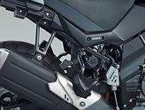 【在庫あり】【イベント開催中!】 SUZUKI スズキ バッグ・ボックス類取り付けステー サイドケースブラケット(樹脂サイドケース用) Vストローム650 Vストローム650XT