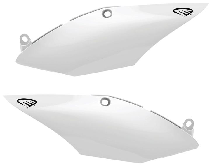 CYCRA サイクラ サイドカバー サイドナンバーパネル カラー:ホワイト CRF250 2018、CRF250R 2018、CRF450 2017-2018、CRF450R 2017-2018
