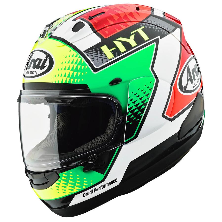 Arai アライ フルフェイスヘルメット RX-7X GIUGLIANO [アールエックス セブンエックス ジュリアーノ] ヘルメット サイズ:XL(61-62cm)