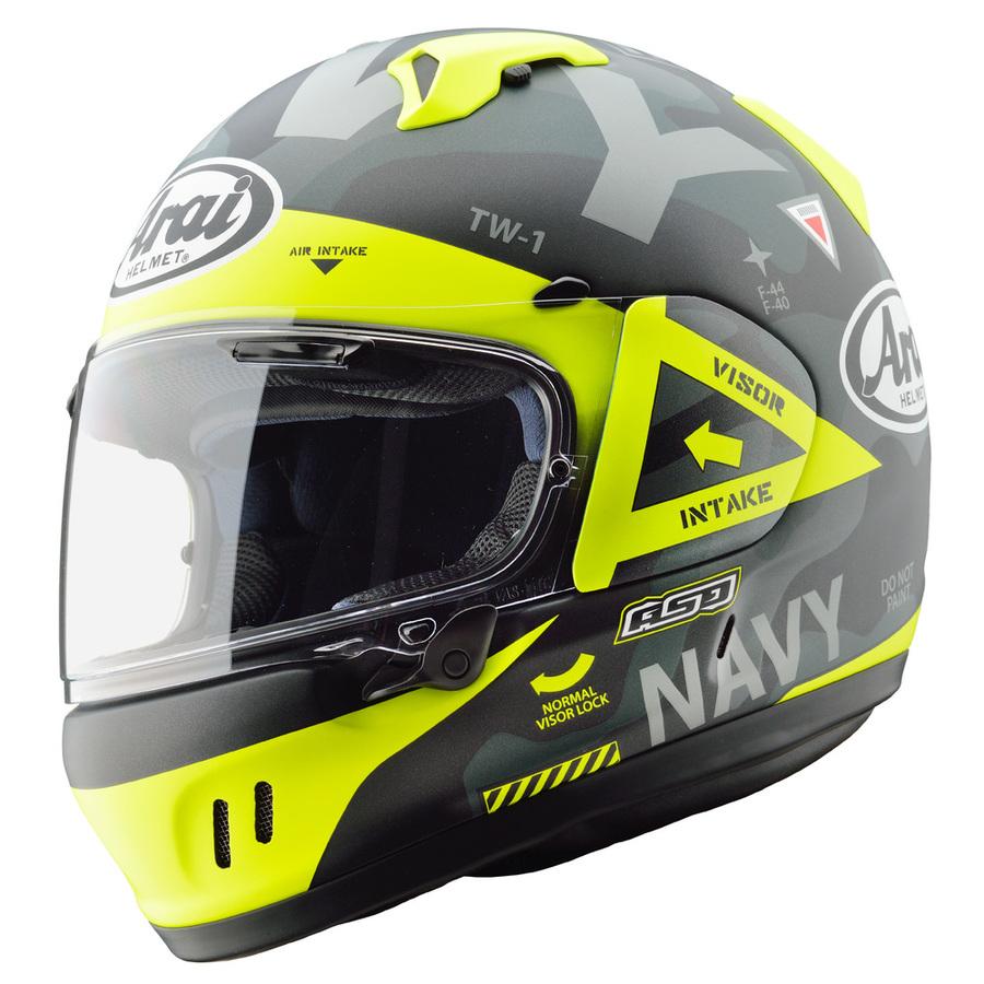 Arai アライ フルフェイスヘルメット XD [エックスディー ネイビーブラック] ヘルメット サイズ:S(55-56cm)