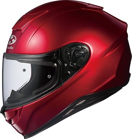 OGK KABUTO オージーケーカブト フルフェイスヘルメット AEROBLADE-V [AEROBLADE-5 エアロブレード・ファイブ シャイニーレッド] ヘルメット サイズ:XS