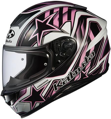 OGK KABUTO オージーケーカブト フルフェイスヘルメット AEROBLADE-5 VISION [エアロブレード・ファイブヴィジョン ブラックピンク ]ヘルメット サイズ:L