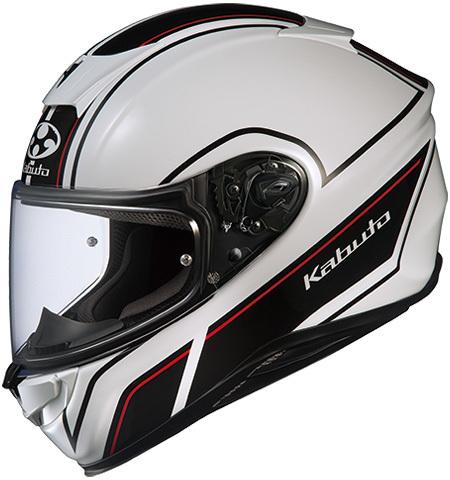 OGK KABUTO オージーケーカブト フルフェイスヘルメット AEROBLADE-5 SMART [エアロブレード・ファイブスマート ホワイトブラック ]ヘルメット サイズ:XXL