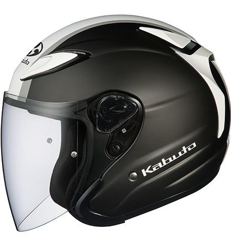 OGK KABUTO オージーケーカブト ジェットヘルメット AVAND-II ESCAPE [アヴァンド・2 エスケープ フラットブラックホワイトグレー] ヘルメット サイズ:L