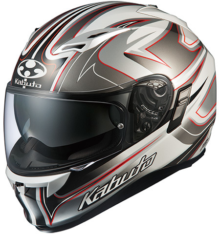 OGK KABUTO オージーケーカブト フルフェイスヘルメット KAMUI-II SIPRO [カムイ・2 シプロ ホワイトシルバー] ヘルメット サイズ:XS