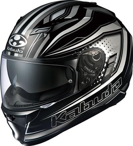 OGK KABUTO オージーケーカブト フルフェイスヘルメット KAMUI-II GALANT [カムイ・2 ギャラン ブラックシルバー] ヘルメット サイズ:S