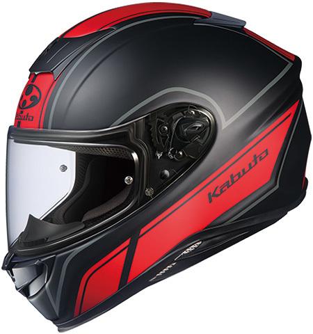 OGK KABUTO オージーケーカブト フルフェイスヘルメット AEROBLADE-5 SMART [エアロブレード・ファイブスマート フラットブラックレッド ]ヘルメット サイズ:S