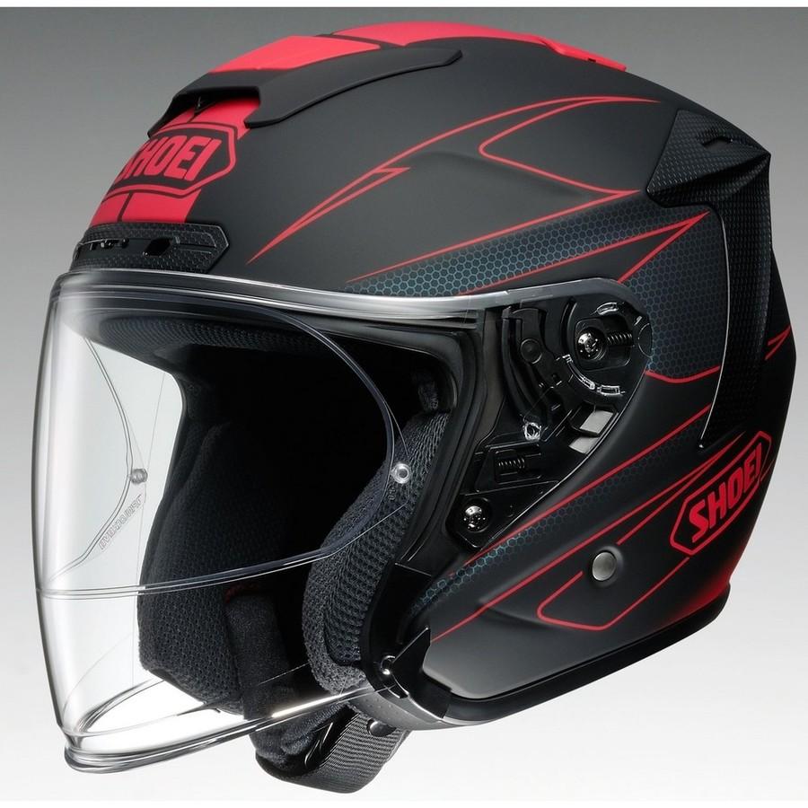 【イベント開催中!】 SHOEI ショウエイ ジェットヘルメット J-FORCE IV MODERNO [ジェイ-フォース フォー モデルノ TC-1 RED/BLACK マットカラー] ヘルメット サイズ:XL (61cm)