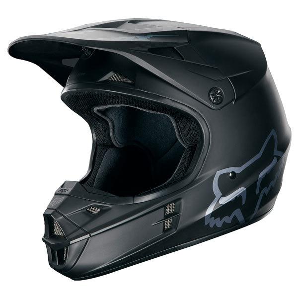 【在庫あり】【イベント開催中!】 FOX フォックス オフロードヘルメット V1ヘルメット MAT BLK サイズ:XL