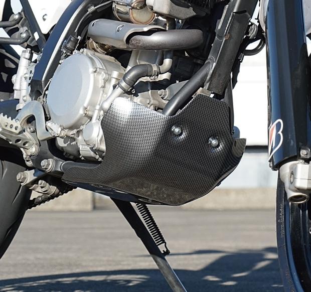 【イベント開催中!】 CYCLE-AM サイクラム ガード・スライダー スキッドプレートタイプII WR250R WR250X (モタード)