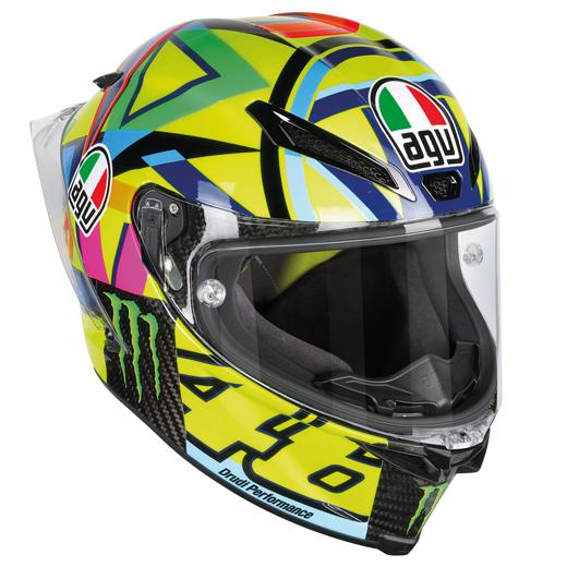 【在庫あり】AGV エージーブイ フルフェイスヘルメット ピスタ GP R ヘルメット(PISTA GP R TOP) サイズ:L(59-60cm)