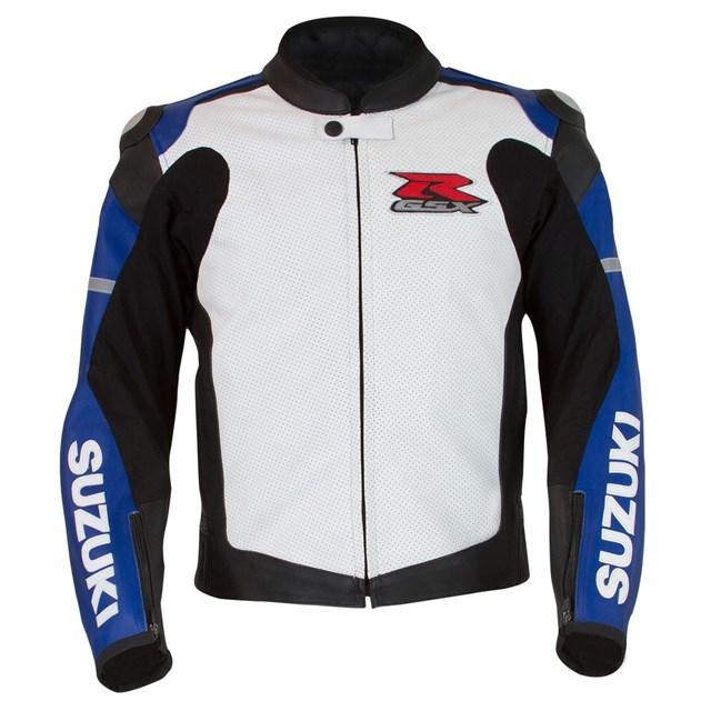 US SUZUKI 北米スズキ純正アクセサリー GSX-R レザージャケット【Gsx-R Leather Jacket】