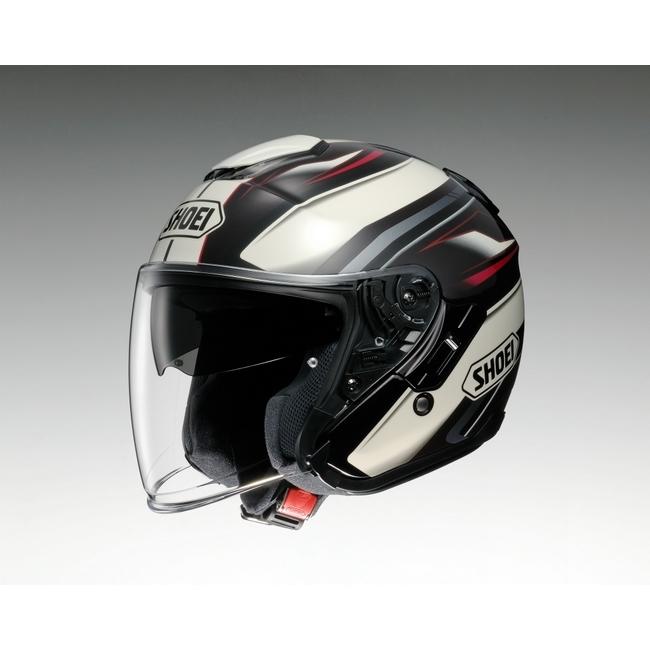 【在庫あり】SHOEI ショウエイ ジェットヘルメット J-Cruise PASSE [ジェイ-クルーズ パッセ TC-10 BROWN/WHITE] ヘルメット サイズ:L (59cm)