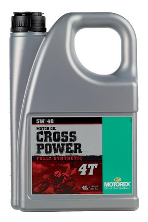 MOTOREX モトレックス CROSS POWER 4T【5W-40】【4サイクルオイル】