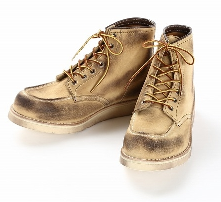 WINGLOVE ウィングローブ シューズ IBUSHI (イブシ) タイプII ハイカット ブーツ サイズ:27.0cm