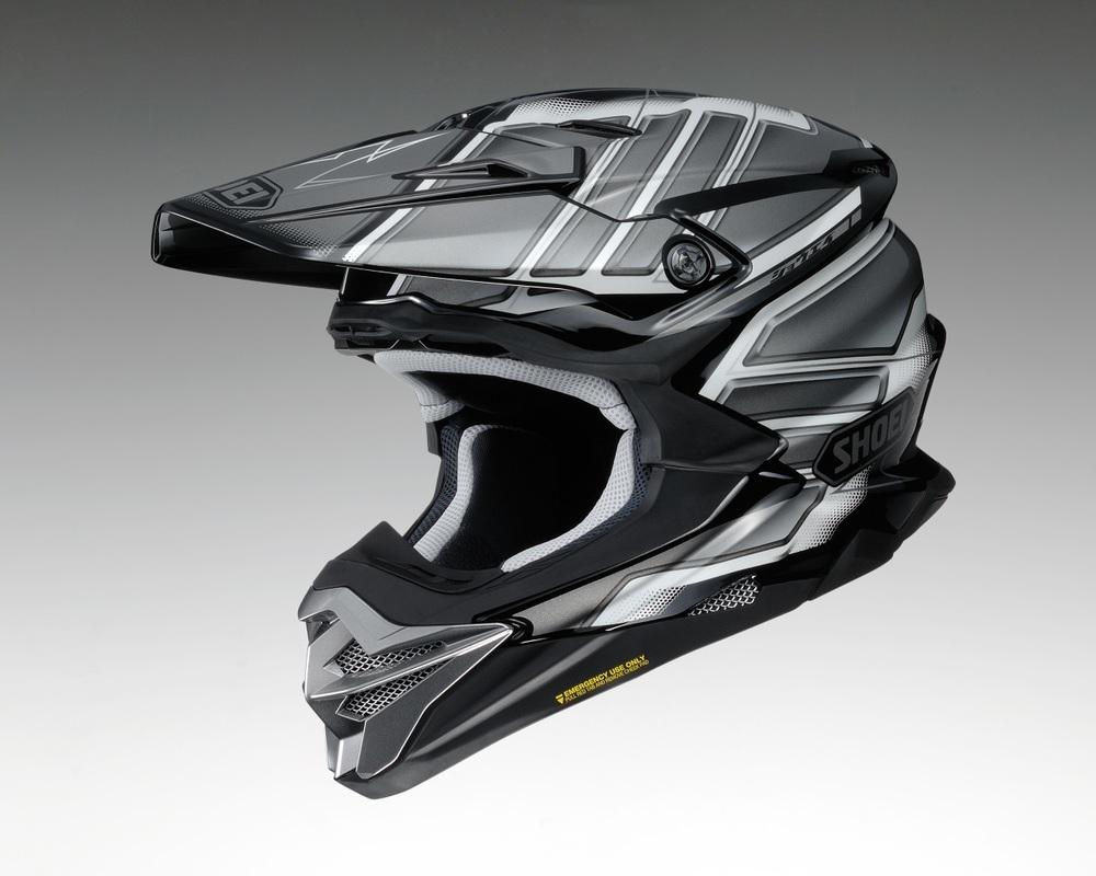 SHOEI ショウエイ オフロードヘルメット VFX-WR GLAIVE [ブイエフエックス-ダヴリューアール グレイヴ TC-5 GREY/BLACK] ヘルメット サイズ:XL (61cm)
