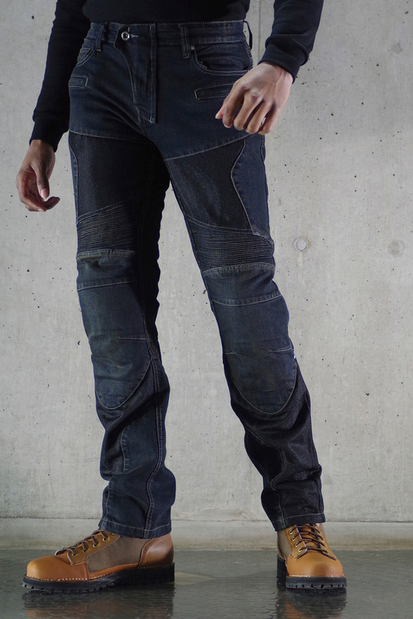 【在庫あり】 KOMINE コミネ デニムパンツ・ジーンズ WJ-739S スーパーフィットプロテクトメッシュジーンズ サイズ:L/32