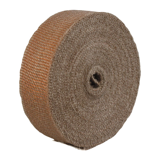 """THERMOTEC サーモテック その他マフラーパーツ マフラーインシュレーションラップ【EXHAUST INSULATING WRAP】 COLOR:COPPER (50 FOOT (APPROx 15 METERS); 2"""" WIDE)"""