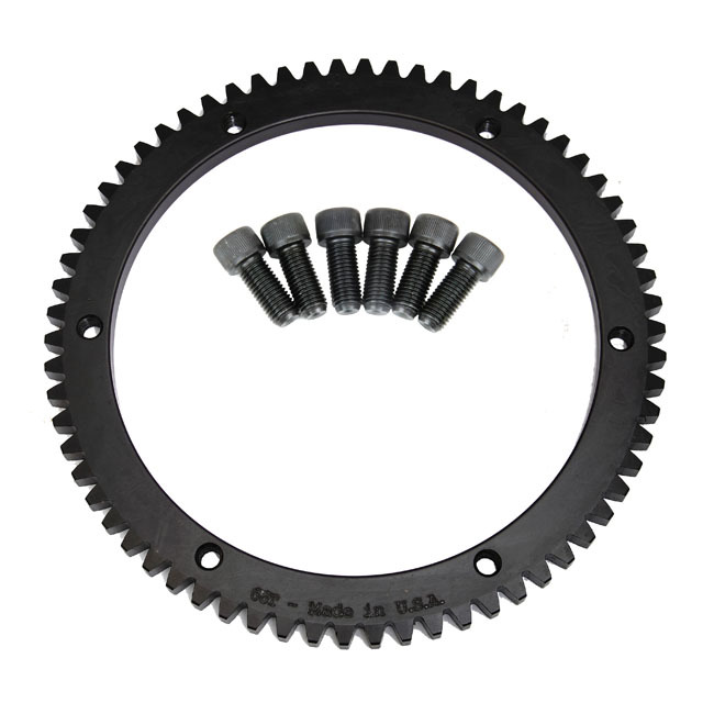 EVOLUTION INDUSTRIES エボリューションインダストリーズ 66T リングギア【66 TOOTH RING GEAR】 98-06 B.T.(NU) (EXCL. 2006 DYNA)