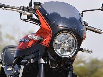 CHIC DESIGN シックデザイン ビキニカウル・バイザー ロードコメット カラー:Cトーンブラウン/Cトーンオレンジ カラー:スモーク Z900RS