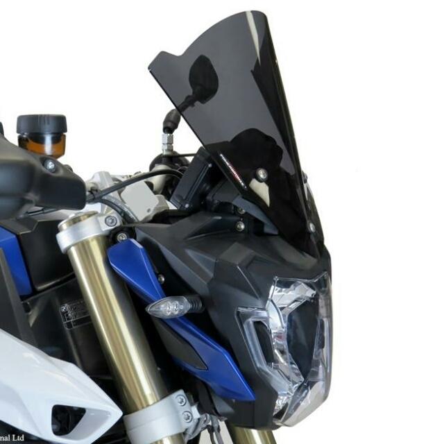 ODAX オダックス POWER BRONZE ネイキッド・スクリーン カラー:イリジウムイエロー F800R (15-)